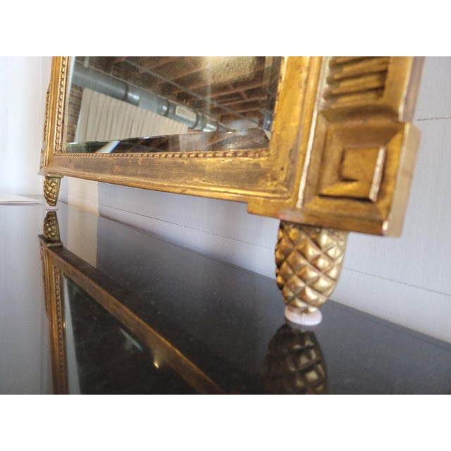 Early 20th Century 20th Century French Grand Gilt Mirror From Waldorf Astoria For Sale - Image 5 of 10
