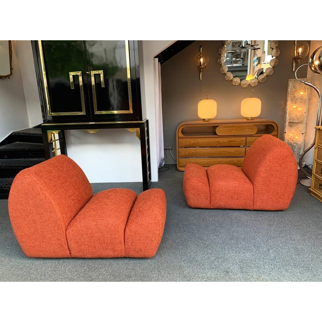1970s Vintage Paloa Chairs by Emilio Guarnacci - a Pair For Sale - Image 10 of 11