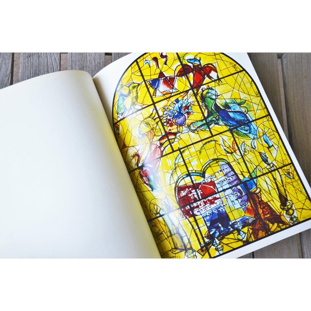 Marc Chagall the Jerusalem Windows Hardback First Edition Book For Sale - Image 9 of 12
