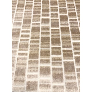 Black Label Home Cask - Modern Greige Dove Designer Cut Velvet Upholstery Fabric - 6 Yards For Sale