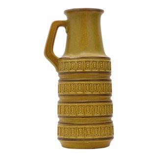 West German Scheurich Handled Floor Vase For Sale