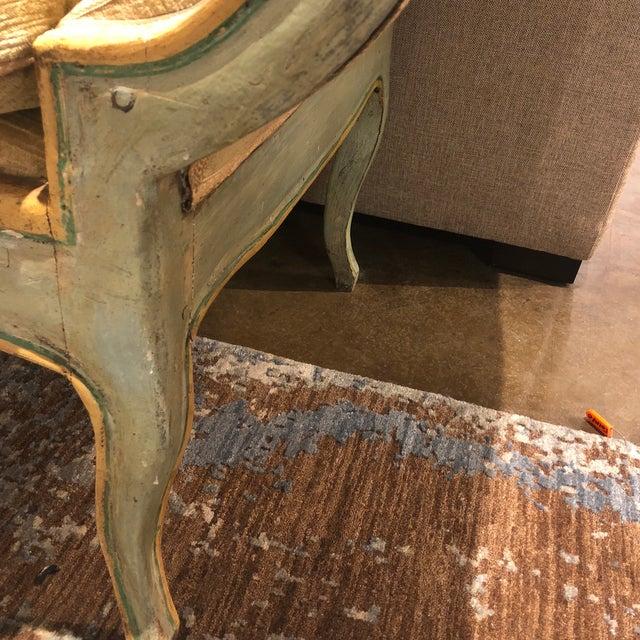 Mid 19th Century Antique Camelback Piedmont Italian Sofa For Sale - Image 9 of 12