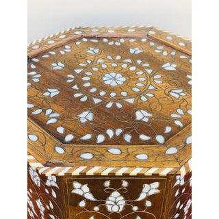 1940s Mother of Pearl Inlay Side Table Preview