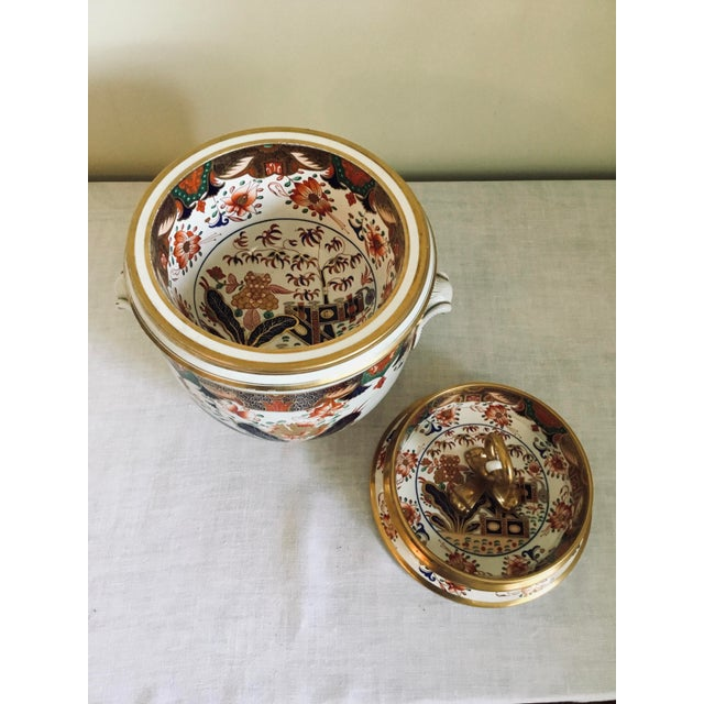 Ceramic 1800s Spode Fruit Cooler/Ice Pail For Sale - Image 7 of 12