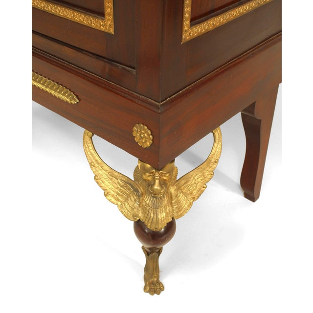 Mid 19th Century French Empire Style Display/Vitrine Cabinet For Sale - Image 5 of 6