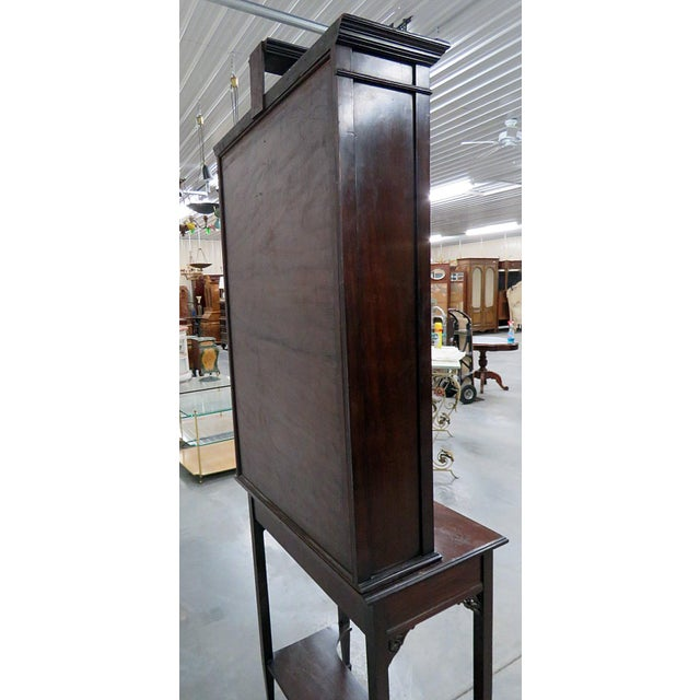 19thC Georgian Collectors Cabinet For Sale - Image 10 of 12