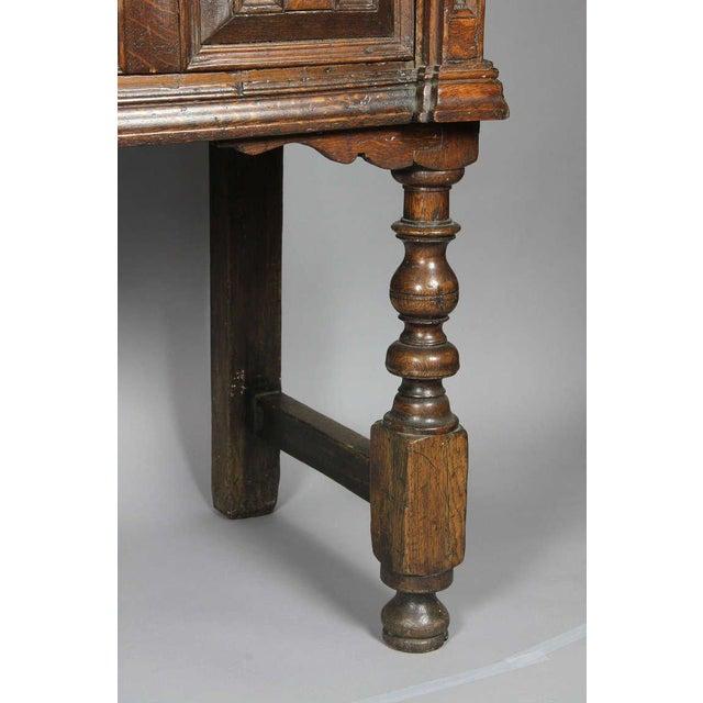 Early 18th Century Jacobean Oak Dresser Base For Sale - Image 5 of 9
