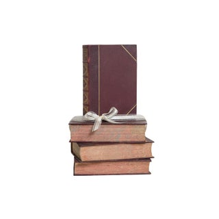 Weathered Leather Dickens Gift Set, (S/4) Preview