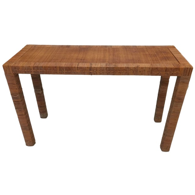 Late 20th Century Billy Baldwin Style Console Table For Sale - Image 9 of 9