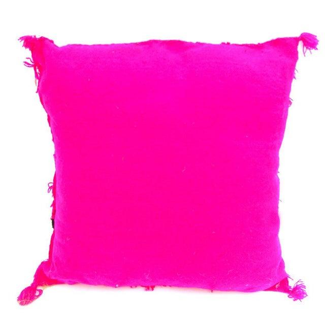 Pink Moroccan Wedding Pillow - Image 2 of 2