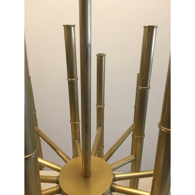 Jonathan Adler Meurice Brass Chandelier - Image 5 of 6