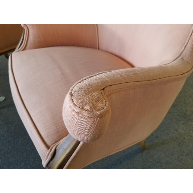 1940s Vintage Hollywood Regency Club Chairs - A Pair For Sale In Miami - Image 6 of 10