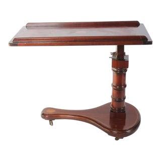 Early 20th Century Vintage Italian Tilt Inlaid Table For Sale