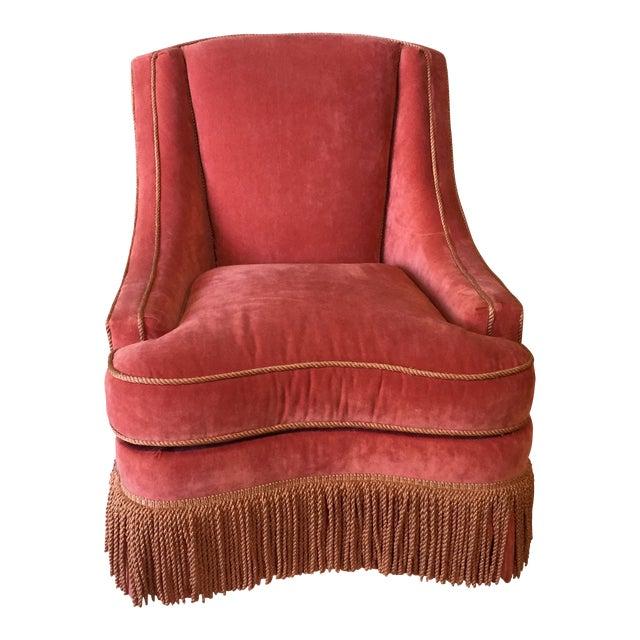 Vintage Council Furniture Down Wrap Chair For Sale