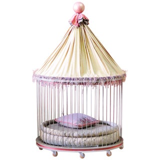 Metal Circus Tent Pet Bed