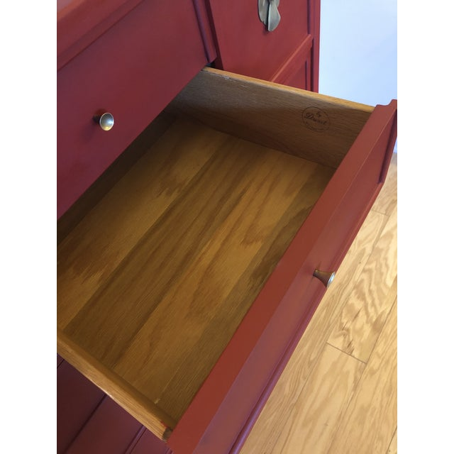 Mid-Century Campaign 1960's Drexel Dresser For Sale - Image 11 of 11