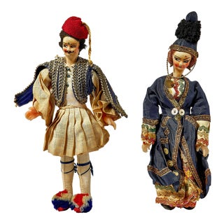 Antique Russian Tsar Toy Dolls For Sale