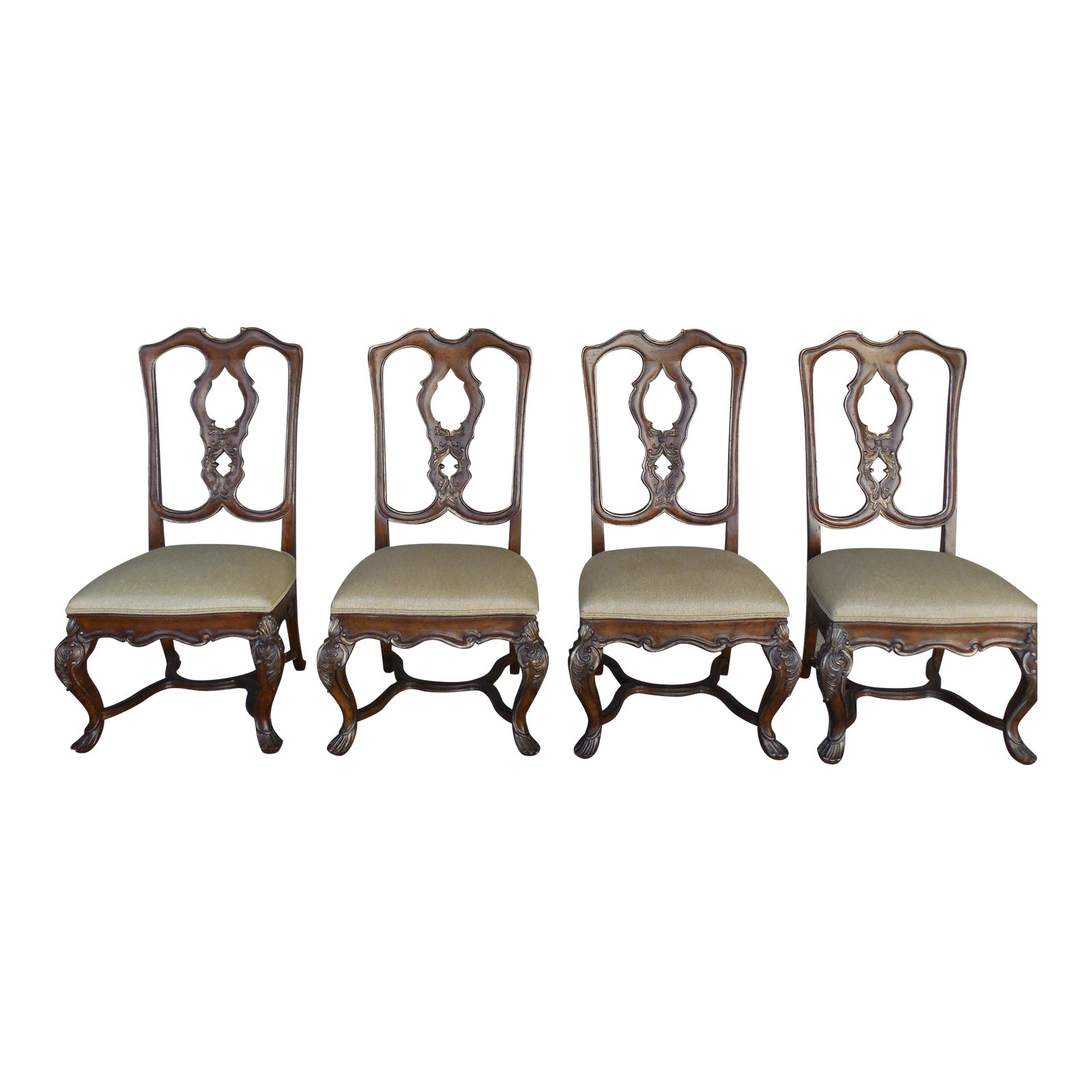 Ferguson Copeland Venetian Side Chairs Set Of 4 Chairish