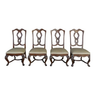 Ferguson Copeland Venetian Side Chairs - Set of 4 For Sale