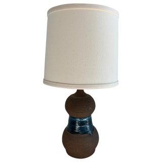 Danish Midcentury Ceramic Lamp For Sale