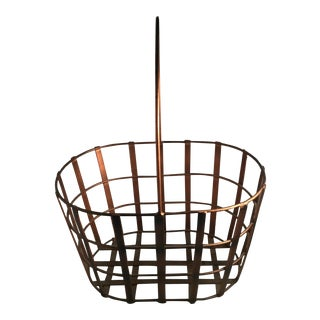 Metal Decorative Basket For Sale