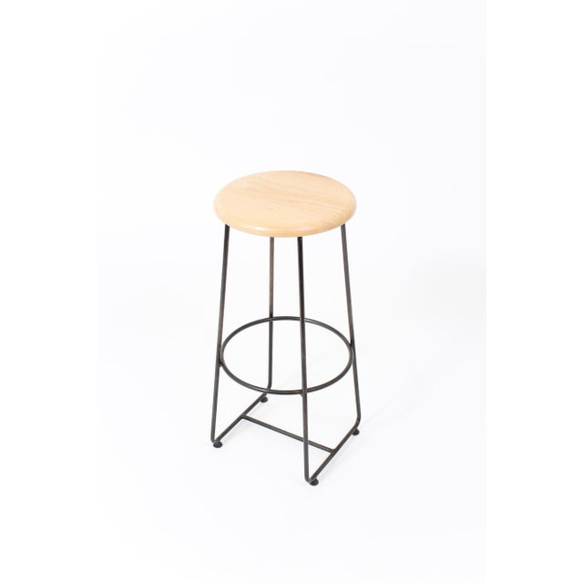 Contemporary Steven Bukowski Contemporary Altro Bar Stool For Sale - Image 3 of 6
