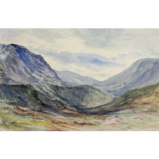 Scottish Highlands Watercolor