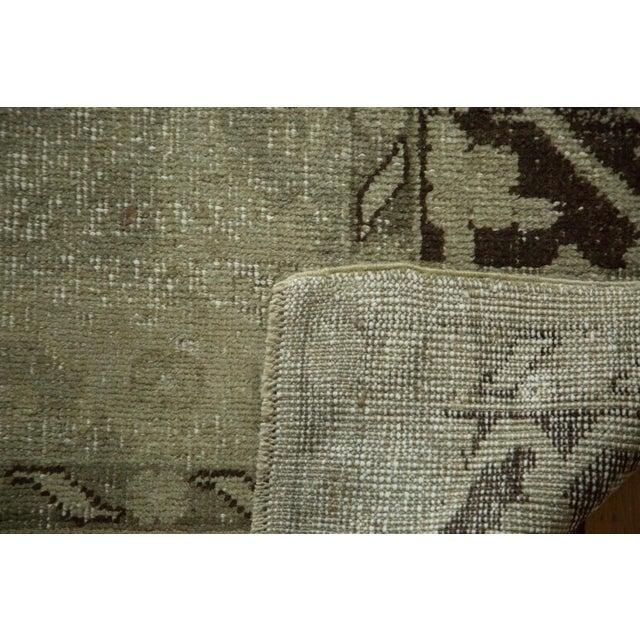 "Vintage Distressed Oushak Carpet - 6'10"" x 10'2"" For Sale - Image 10 of 10"