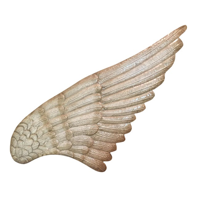 Angel Wing Metal Wall Art - Image 1 of 3