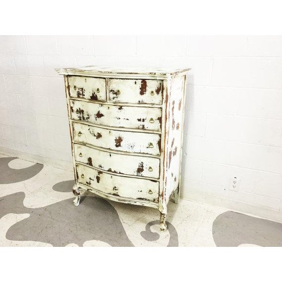 Shabby Chic Dresser in Distressed White - Image 3 of 6