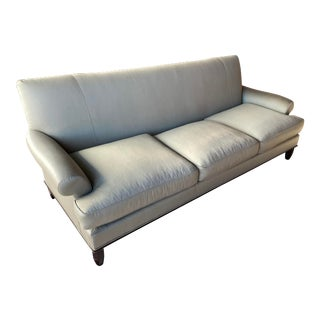 Baker Contemporary Rolled Arm Sofa For Sale