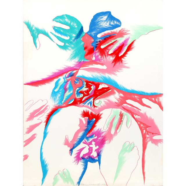 Marisol Escobar, Meeting of the Universe, Lithograph For Sale