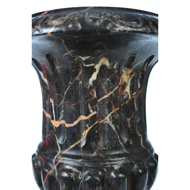 Neoclassical Variegated Marble Urns - A Pair - Image 10 of 10