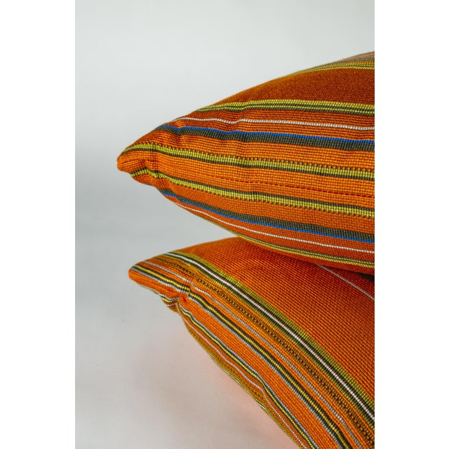 """2020s 18"""" Maharam Point by Paul Smith Pillows, Pair For Sale - Image 5 of 6"""