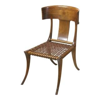 Vintage t.h. Robsjohn-Gibbings Klismos Chairs by Saridis, Athens For Sale