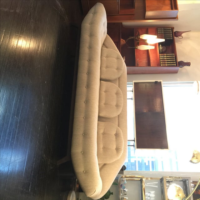 Adrian Pearsall Tufted Gondola Sofa - Image 3 of 8