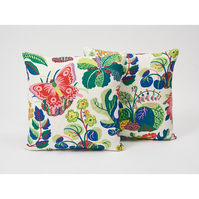 A faithful reproduction of a never-before-seen design by Josef Frank, this pattern bears the designer's signature...