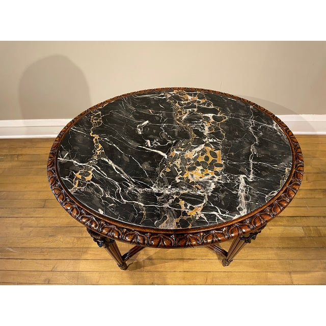 French Provincial 20th Century French Provincial Heavily Cured Side Table For Sale - Image 3 of 8