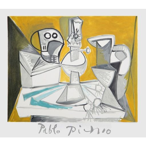 Pablo Picasso Tete De Morte Lampe Cruches Et Poi For Sale