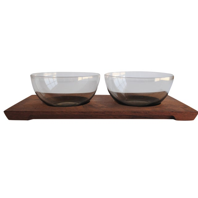Mid-Century Serving Set - Image 1 of 5