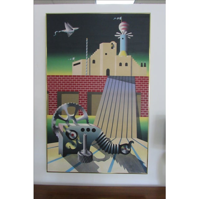 Industrial Age Painting - Image 3 of 6