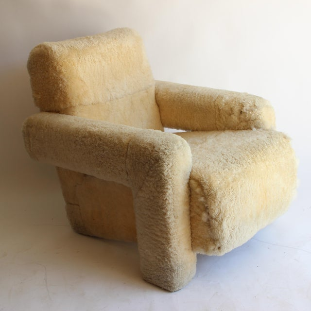"Gerrit Rietveld ""Utrecht"" style chair... it needs new upholstery."