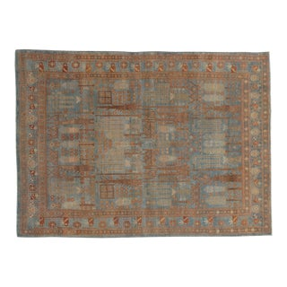 Early 20th Century Persian Malayer Rug-5′ × 6′8″ For Sale