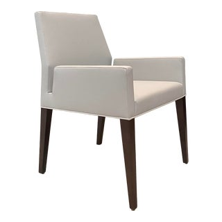 Contemporary Dining Arm Chair For Sale