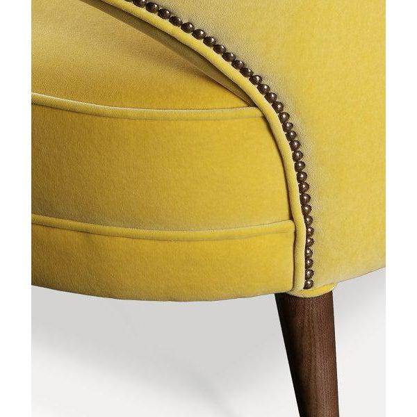 Art Deco Covet Paris Ibis 2 Seat Sofa For Sale - Image 3 of 5
