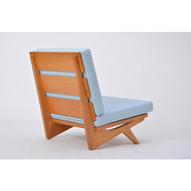 Blue Easy Chair by Georg Thams for as Vejen Polstermøbelfabrik, 1964 For Sale - Image 8 of 10