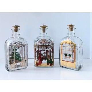 1980s Vintage Holmegaard Christmas Bottles by Michael Bang & Jette Frölich - Set of 3 Preview