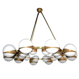 Adesso Imports Round Globe Chandelier For Sale