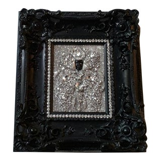 Contemporary Curiosity Diamond Style Icon, Framed For Sale