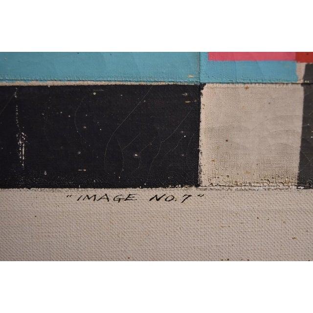 "Final Markdown C. 1967 Norio Azuma ""Image No.7."" Color Serigraph - Image 5 of 7"